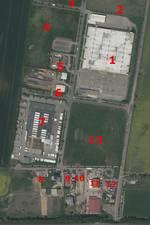 Luftbild Gewerbegebiet Teutschenthal [(c): Landesamt für Vermessung und Geoinformation Sachsen-Anhalt (LVermGeo)]